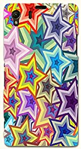 Stunning multicolor printed protective REBEL mobile back cover for Sony Xperia Z1 C6902/L39h D.No.N-T-1801-S39