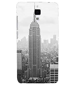 PRINTSHOPPII NEY YORK Back Case Cover for Xiaomi Redmi Mi4::Xiaomi Mi 4