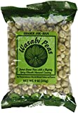 Wasabi Peas TRADER JOES (Pack of 2) - 9oz each - These dried pea snacks are crunchy! Preservative FREE with no artifical colors or flavors!