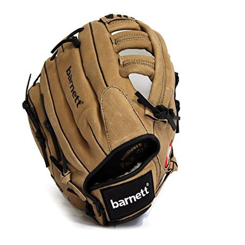 barnett-sl-130-rh-guanti-da-baseball-softball-pelle-outfield-13-per-mancini-guanto-mano-destra-marro