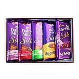 #4: Cadbury Dairy Milk Silk Combo Pack (Pack Of 5) 270Gm