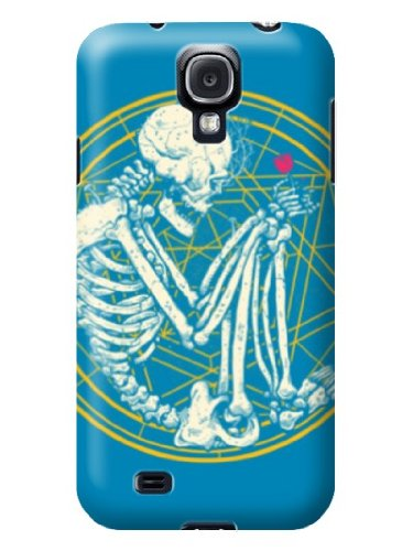 Sangu Curly Skull Hard Back Shell Case / Cover For Samsung Galaxy S4 front-51184