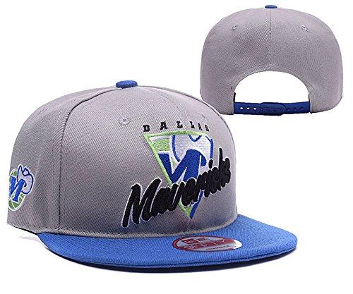 [Fashion The League Dallas Mavericks Grey Adjustable Hat] (Wigs Hobart)
