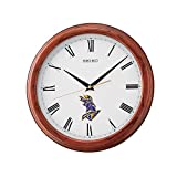 Seiko Wall Clock (32 Cm X 32 Cm X 4 Cm, Brown, QXA913BN)