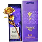 Some One Special Golden Rose Small Gold Plated Best For Gifting And Proposing