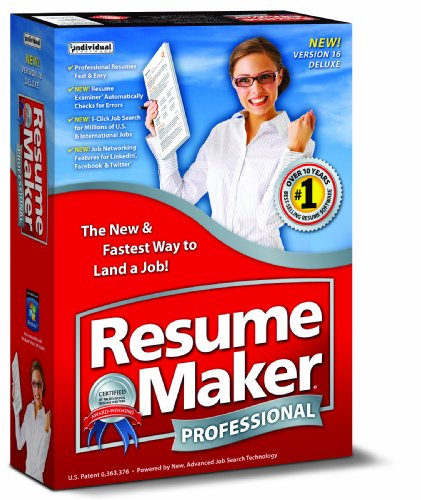 base of free software resumemaker professional deluxe 16