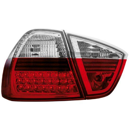 RB27LRC LED Rückleuchten BMW E90 3er Lim. 05 red crystal