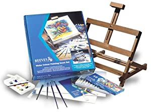 Reeves Water Color Painting Easel Set