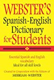 img - for Webster's Spanish-English Dictionary for Students (Spanish Edition) book / textbook / text book