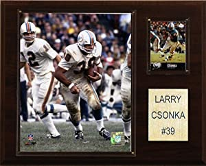 NFL Larry Csonka Miami Dolphins Player Plaque by C&I Collectables