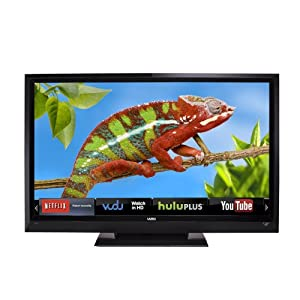 VIZIO E422VLE 42-Inch 120Hz LCD HDTV with VIZIO Internet Apps