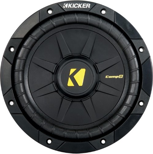 "Kicker 40Cwd84 8"" Compd Car Subwoofer - Each (Black)"