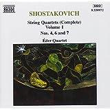 Shostakovich: Streichwuartette Vol. 1