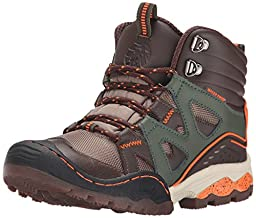 Jambu Vulcan Waterproof Boot (Toddler/Little Kid/Big Kid), Brown/Forest Green, 9 M US Toddler