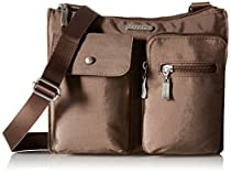 Baggallini Everything Crossbody Travel Bag, Portobello, One Size