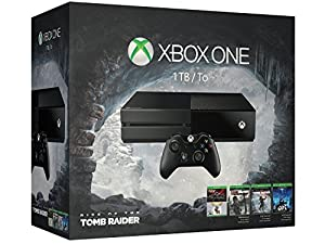 Xbox One 1TB Console - 5 Games Holiday Bundle (Rise of the Tomb Raider + Gears of War: Ultimate + Rare Replay + Tomb Raider: Definitive Edition + Ori and the Blind Forest from Microsoft