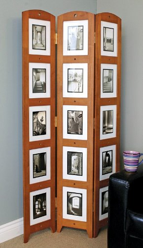 Triple Panel Photo Screen for 15 Photos in Cairo Finish