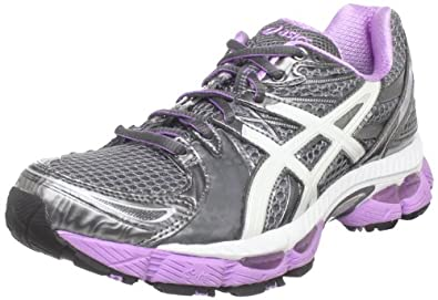 ASICS Women's GEL-Nimbus 13 Running Shoe,Castle Rock/White/Violet,5 M US