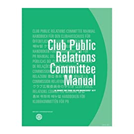 Club Public Relations Committee Manual
