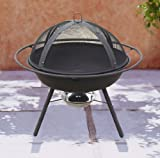 Garden Patio Firepit for use as BBQ outdoors , Fire Pit, Fire Bowl, Patio Heater 13kg