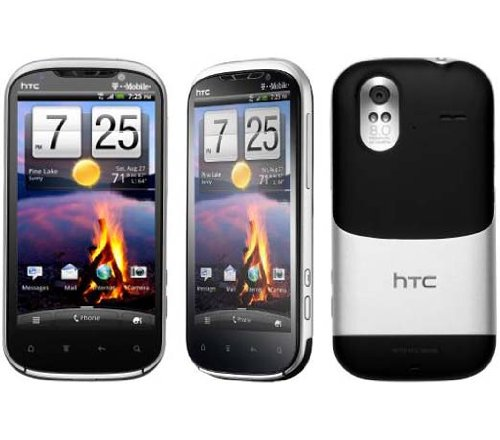 HTC Amaze 4G Android Silver Black – T-Mobile