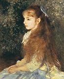 ルノワール「イレーヌ・カーン・ダンヴィル嬢」 プリハード 世界の名画 目安サイズ8号 額縁D