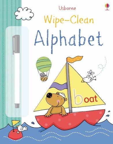 Wipe-clean alphabet (Dizionario illustrato)