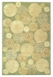 "Martha Stewart Rugs Parasols Herbal Garden Rug 2'6"" x 4'3"""