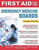 img - for First Aid for the Emergency Medicine Boards 2/E (First Aid Series) book / textbook / text book