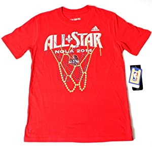 Buy 2014 NBA Youth All-Star Game Beads & Buckets T-Shirt Red by adidas