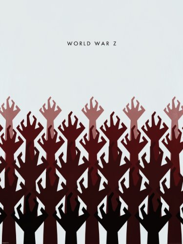 World War Z Limited Edition Poster Art Print, 24 by 32-Inch, Hands - 1