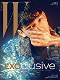 W KOREA 7月号(2016)EXO チェン 表紙(画報、インタビュー掲載:EXO / 54P) [8点構成] (韓国版)