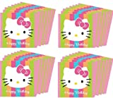 Hello Kitty Two Packs of Large Napkins Birthday 32 count