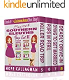 Cozy Mysteries Women Sleuths Series: Box Set II: Books 5 - 7 PLUS Bonus Short Story (Sweet Southern Sleuths Short Stories Book 0)