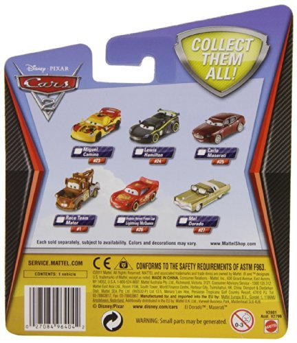 Disney Pixar Cars 2 Holley Shiftwell Toy, Kids, Play, Children front-760834