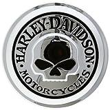 HARLEY-DAVIDSON(ハーレーダビッドソン) 純正フュエルキャップメダリオン ウィリーGスカルコレクション スポーツスター用 HD99669-04