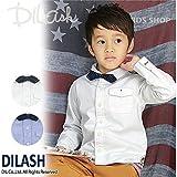 (ディラッシュ) DILASH蝶ネクタイ付きオックスフォード長袖シャツ/秋 ベビー 子供 男の子 120 オフホワイト
