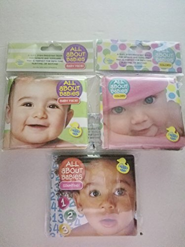 All About Babies Bath Time Bubble Book Counting 123, Colors, and Baby Face!