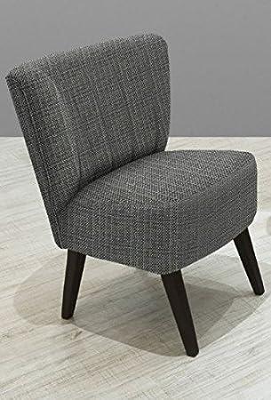 Lounge Sessel grau meliert