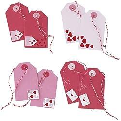 Martha Stewart Crafts Valentine Day Premade Tags