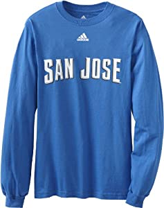 MLS San Jose Earthquakes Mens Primary One Long Sleeve Tee by adidas