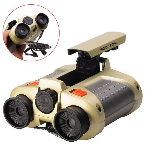 Buy Bargain AWOEZ 4x30 Night Scope Binoculars Telescope with POP-UP Spotlight and night-beam vision ...