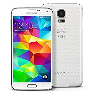 Samsung SM-G900V Unlocked Galaxy S5 16GB Android Smartphone Verizon + GSM (White) (Certified Refurbished)