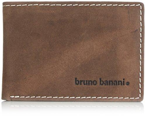 Bruno Banani Phoenix, Portafoglio uomo, Marrone (Marrone (Braun)), 10x7x1 cm (B x H x T)