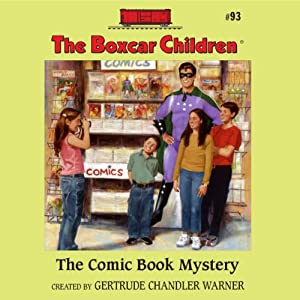 The Comic Book Mystery Audiobook