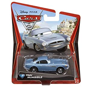 Amazon Com Cars 2 Movie Series 1 Finn Mcmissile 2 Die