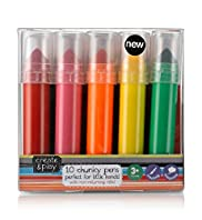 Ceate & Play 10 Chunky Pens Set