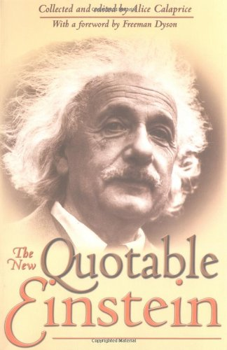 The New Quotable Einstein