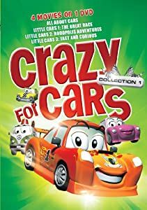 Crazy for Cars Collection -4 Features on 1 DVD