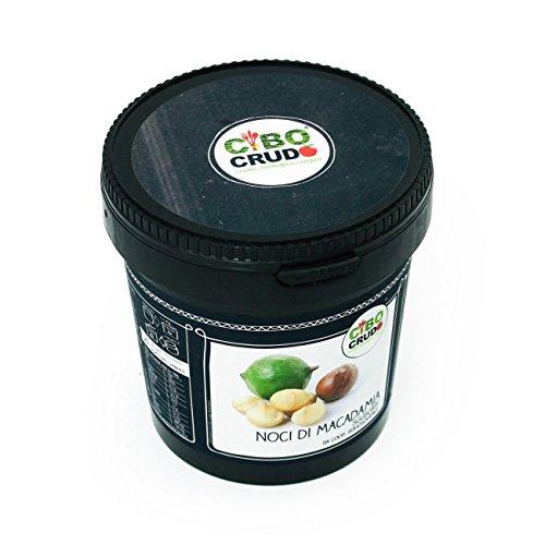 Noci di Macadamia Crude Sgusciate da Coop. Equosolidale Raw 500g